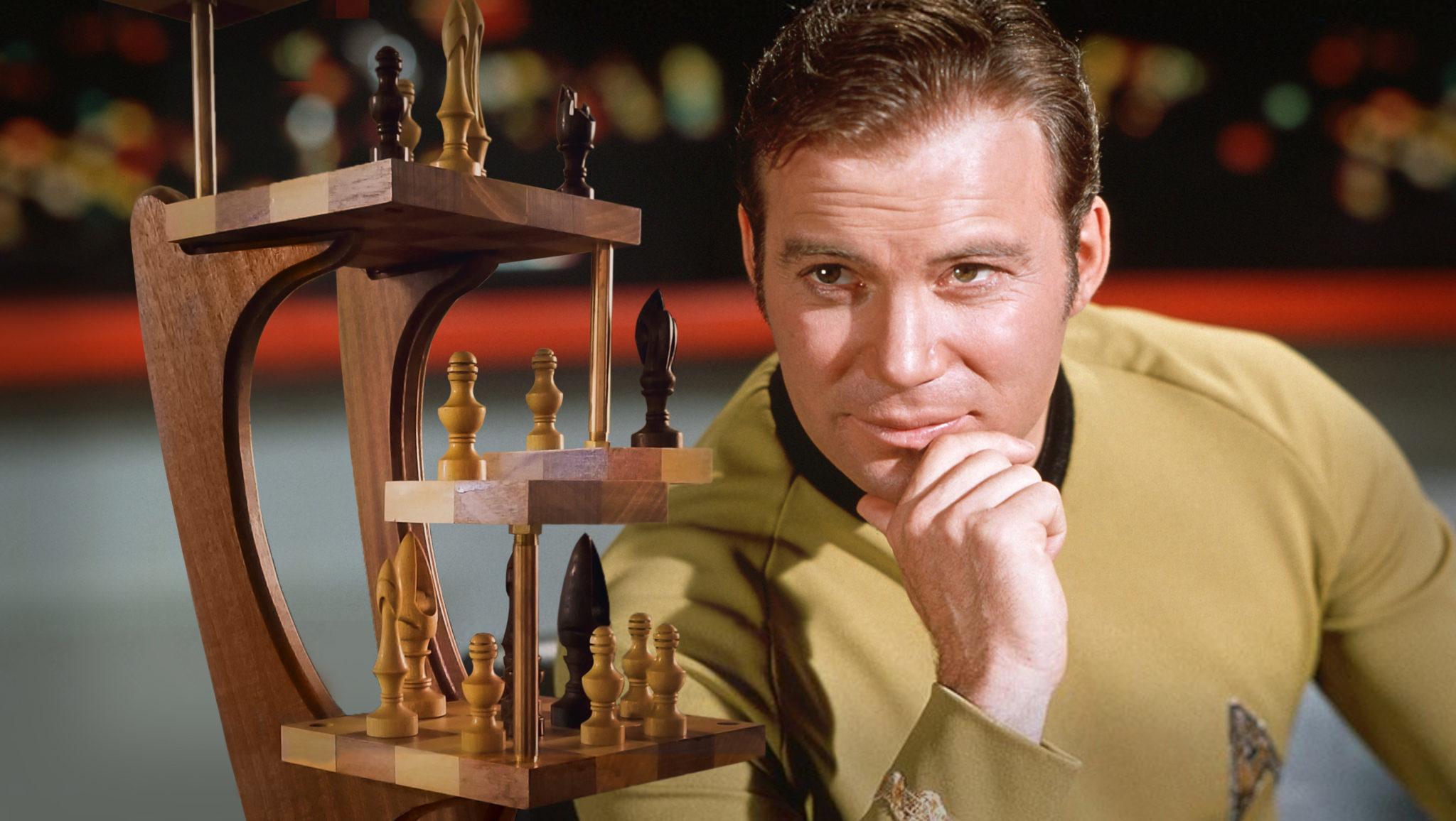 The Star Trek Tri Dimensional Chess Board Functional Fan